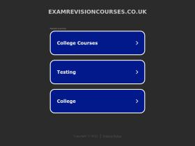 examrevisioncourses.co.uk