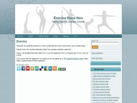 exerciseknowhow.com
