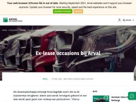 exlease.arval.nl