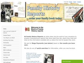 family-history-reports.cleanlinesonline.co.uk