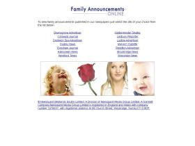 familyannouncementsonline.co.uk