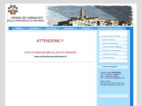 farmacistimatera.it