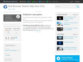 fast-browser-search-my-face-lol.software.informer.com
