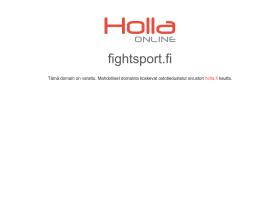 fightsport.fi