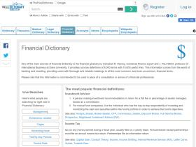 financial-dictionary.thefreedictionary.com