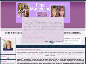 find-madeleine.forumotion.net