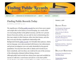 findingpublicrecords.org