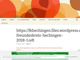 fkhechingen.wordpress.com