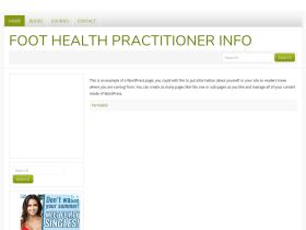 foothealthpractitioner.info