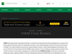 Forex pamm managers