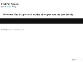 forkvsspoon.com