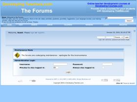 forum.developingteachers.com