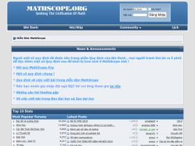 forum.mathscope.org