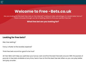 free-bets.co.uk
