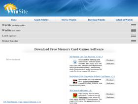 free-memory-card-games.winsite.com