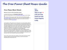 free-piano-sheet-music.com