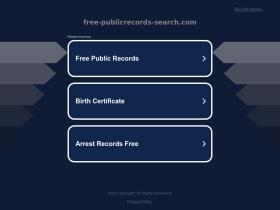 free-publicrecords-search.com