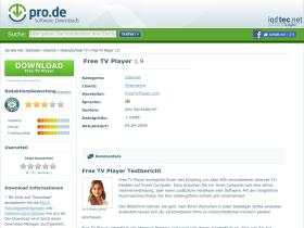 free-tv-player.pro.de