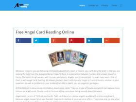 freeangelcardreading.org