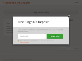 freebingonodeposit.uk.com