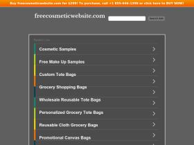 freecosmeticwebsite.com