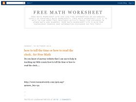 freemathworksheet.blogspot.com