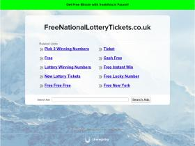 freenationallotterytickets.co.uk