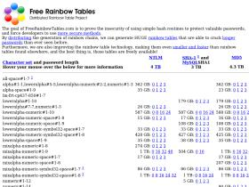 freerainbowtables.com