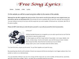 freesonglyrics.co.uk
