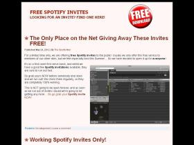freespotifyinvites.org