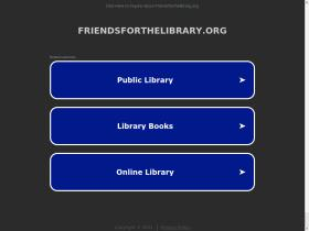 friendsforthelibrary.org