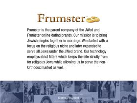 Frumster dating