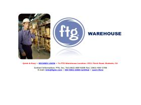 ftgwarehouse.com