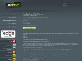fusebox5noxmlsnippets.riaforge.org
