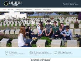 gallipoli-tours.com