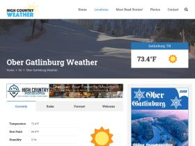 gatlinburgweather.net