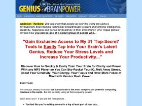 geniusbrainpower.com