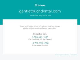 gentletouchdental.com