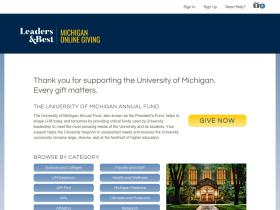giving.umich.edu