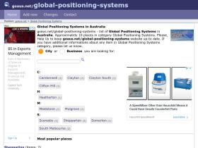 global-positioning-systems.goaus.net