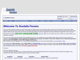 gnutellaforums.com