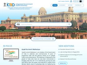 goidirectory.gov.in