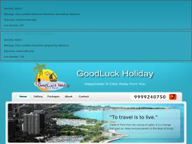 goodluckholiday.com