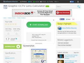 graphic-cctv-lens-calculator.software.informer.com
