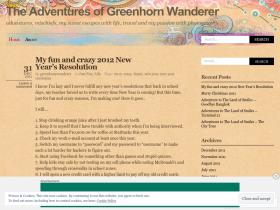 greenhornwanderer.wordpress.com