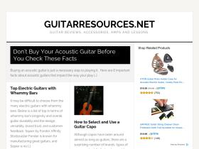 guitarresources.net