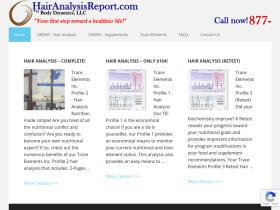 hairanalysisreport.com