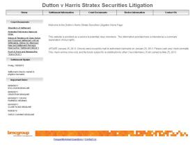harrisstratexsecuritieslitigation.com