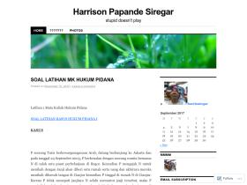 harrizsiregar.wordpress.com