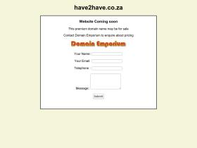 have2have.co.za